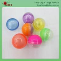 Buy cheap vending machine capsules empty Wholesale 50mm Plastic Round Capsule For Kids from wholesalers