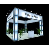 Buy cheap Banner stand Custom exhibition booth from wholesalers