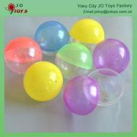 Buy cheap vending machine plastic capsules 70mm Round Capsule from wholesalers