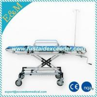 Buy cheap ES-9B Model Aluminum Alloy stretcher trolley from wholesalers