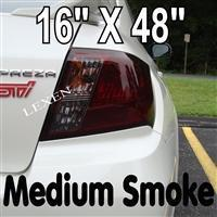 Buy cheap Medium Shade 16 x 48 Original Smoked Lights Film Covers for Headlight or Tail Light from wholesalers