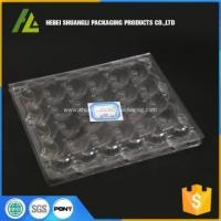 Buy cheap Blister process PET material quail egg tray from wholesalers