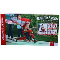 Buy cheap Kids Tricycles Radio Flyer Deluxe Ride & Stand Stroll 'N Trike, Red, 41 x 24 x 39 from wholesalers