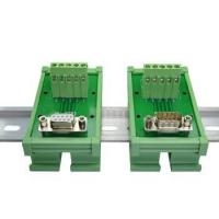 Buy cheap DB9 D Sub 9 Pin Single End Male Female Connectors Terminal Block Breakout Board from wholesalers