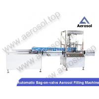 Buy cheap AB-2B Automatic Bag-on-valve Aerosol Filling Machine from wholesalers
