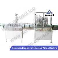 Buy cheap AB-2A Automatic Bag-on-valve Aerosol Filling Machine from wholesalers