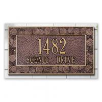 Buy cheap PERSONALIZED ADDRESS PLAQUE - ASPEN WALL PLAQUE from wholesalers