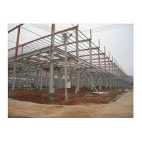 Buy cheap Prefab Office Building , Steel Framing Systems With Steel Structure Galvanized Panel from wholesalers