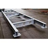 Buy cheap Q235 Galvanized Structural Steel Fabricators Exquisite Welding Process from wholesalers