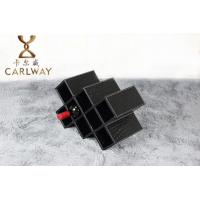 Buy cheap High-grade leather eight stone red wine rack product