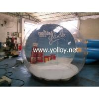 Buy cheap Inflatable Dome Tent Clear Huge Inflatable Christmas Snow Globe product