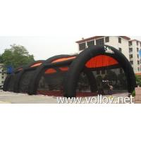 Buy cheap Inflatable Dome Tent Black Inflatable Paintball Arena Tunnel Tent from wholesalers