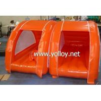 Buy cheap Inflatable Dome Tent Inflatable Wild Camping Lodge with Airbed from wholesalers