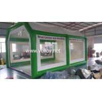 Buy cheap Inflatable Car Tent Airtight inflatable Spray Booth Tent from wholesalers