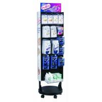 Buy cheap 2-Sided Floor Spinner Display Stocked from wholesalers