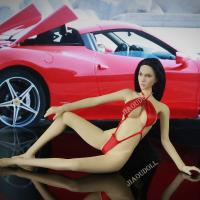 Buy cheap 1/6 Action Figure Clothes Sexy Red Bikini for 12 inch action Figure Female Body from wholesalers