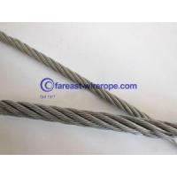 Buy cheap Electrical Galvanized Steel Wire Rope 6*19 from wholesalers