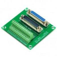 Buy cheap D-SUB DB25 Male / Female Header Breakout Board, Terminal Block, Connector. from wholesalers
