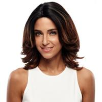 Buy cheap Wig Rebecca Synthetic Hair Lace Wig Short Bob Straight 16 Inch from wholesalers