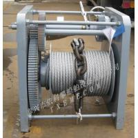Buy cheap Winch hand anchor winch from wholesalers