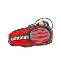 China Custom Polyseter Badminton Tennis Racket Bag,Thermal Tennis Racquet Bag On Sale on sale