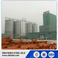 Buy cheap Silo 1000tons Flat Bottom Storage Galvanized Steel Silo from wholesalers