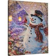 Buy cheap CHRISTMAS SNOWMAN FEATHERED FRIEND-DG-16 X 20 from wholesalers