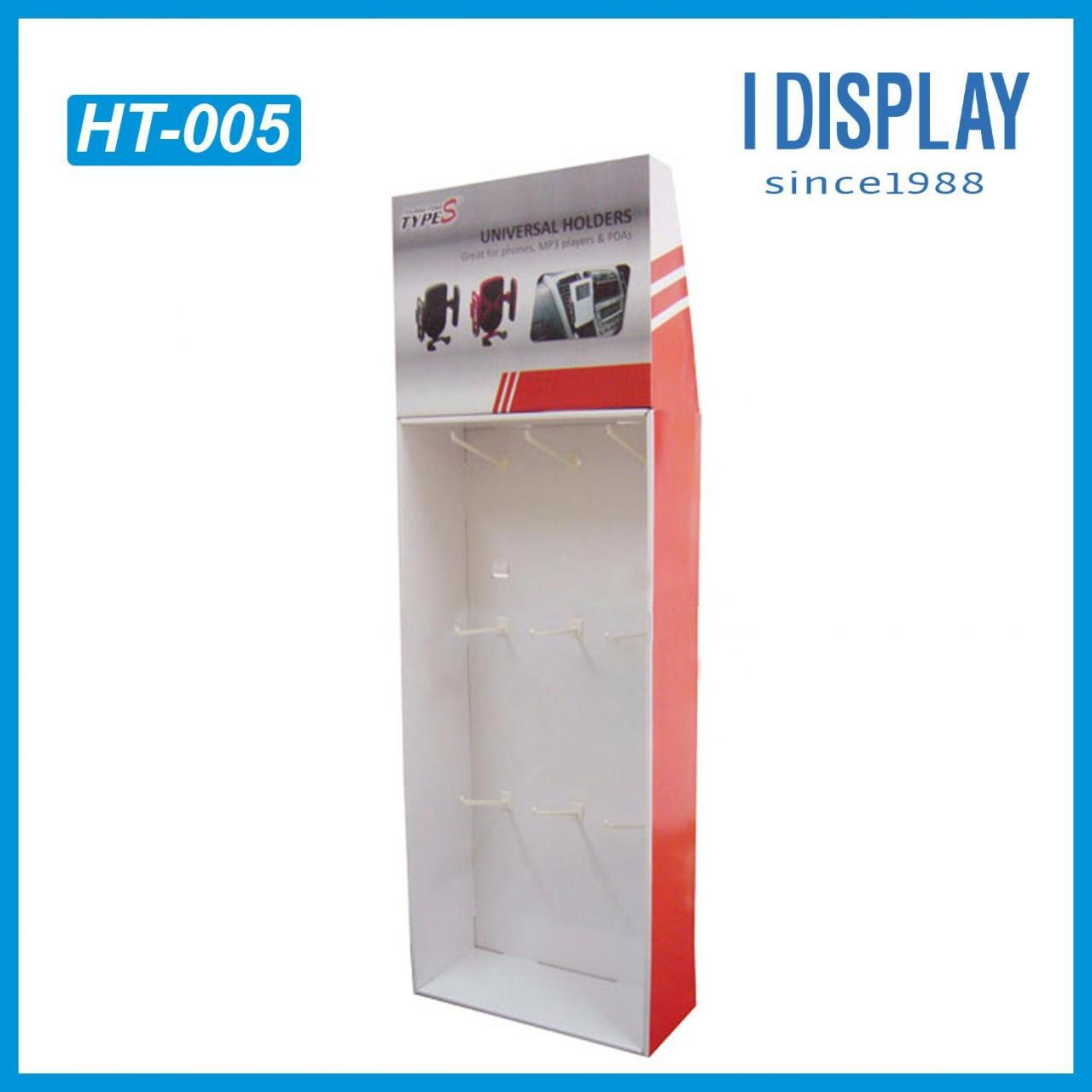 Buy cheap Good quality cardboard hanging display standing hanging paper display from wholesalers
