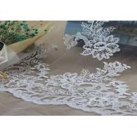 Buy cheap Bridal Lace Fabric Bridal Lace Fabric, Wedding Gown Lace Cord Lace Fabric(W9028) from wholesalers