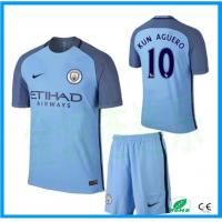 Buy cheap New Season Custom Manchester City Club Long Sleeve Soccer Jersey and Training Jersey from wholesalers
