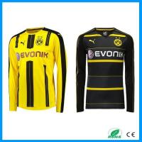 Buy cheap 2016-2017 Season Thai Quality Dortmund Club Team Long and Short Sleeve Soccer Jersey Kits from wholesalers