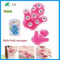 Buy cheap 9 Stainless Steel Balls Anti-cellulite Glove Palm Handheld Body Slimming Roller Massage from wholesalers