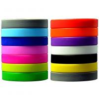 Buy cheap 12pcs Youth Mixture Colour Rubber Silicone Wristband Bracelets Party Fashion from wholesalers