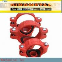 Buy cheap Mechanical tee Grooved outlet from Wholesalers