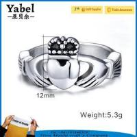Buy cheap Traditional Irish Claddagh Engagement Wedding Love Symbol Ring from wholesalers