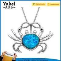 Buy cheap 2017 best selling products korean style jewellery crab design necklace product