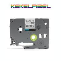 Buy cheap Compatible P Touch label printer tz tape 9mm*8m black on white TZ221 TZE 221 from wholesalers