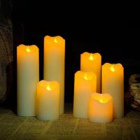 Battery operated led candle lights quality battery for Decoration wax