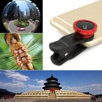 Buy cheap Electronics Universal 3in1 Clip On Camera Lens Kit Fisheye +Wide Angle +Macro for Cell Phone from wholesalers