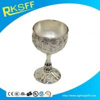 Buy cheap Zinc Alloy Silver Slim-legged Kiddush Cups from wholesalers