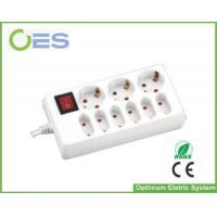 Buy cheap Hot Selling 3 Gang Schuko Switched Socket/European Power Strip with Switch from wholesalers