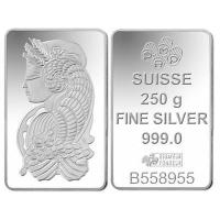 Buy cheap Buy Bullion 250 Gram PAMP Fortuna Silver Bullion Bar 999.0 Fine from wholesalers