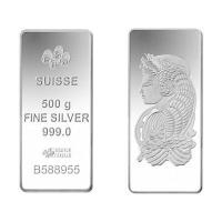Buy cheap Buy Bullion 500 Gram PAMP Fortuna Silver Bullion Bar 999.0 Fine from wholesalers