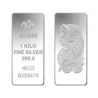 Buy cheap Buy Bullion 1KG Kilogram PAMP Fortuna Silver Bullion Bar 999.0 Fine from wholesalers