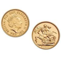 Buy cheap Buy Bullion British Sovereign Gold Bullion Coin - 2017 from wholesalers