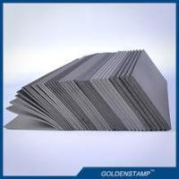 Buy cheap factory produced 2mm/3mm/3.5mm/4mm/7mm grey color flash pad foam for flash stamps from wholesalers