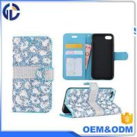 Buy cheap mobile phones diamond cover case shelf mobile phone wallet case for iphone 7 plus from wholesalers