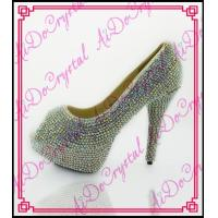 Buy cheap Aidocrystal 2016 new spring handcrafted twinkling rhinestone ladies high heel shoes from wholesalers