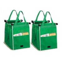 Buy cheap 2Pcs Safe Reusable Ecofriendly Grocery Grab Bags Clip to Cart Trolley from wholesalers