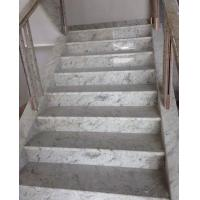 Buy cheap New Kashmir white granite stairs from wholesalers